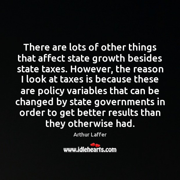 Image, There are lots of other things that affect state growth besides state