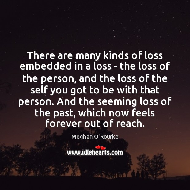 There are many kinds of loss embedded in a loss – the Image