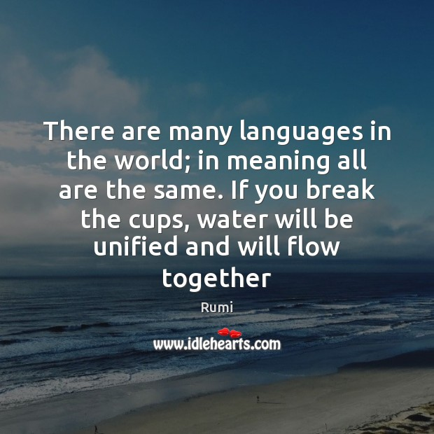 There are many languages in the world; in meaning all are the Image