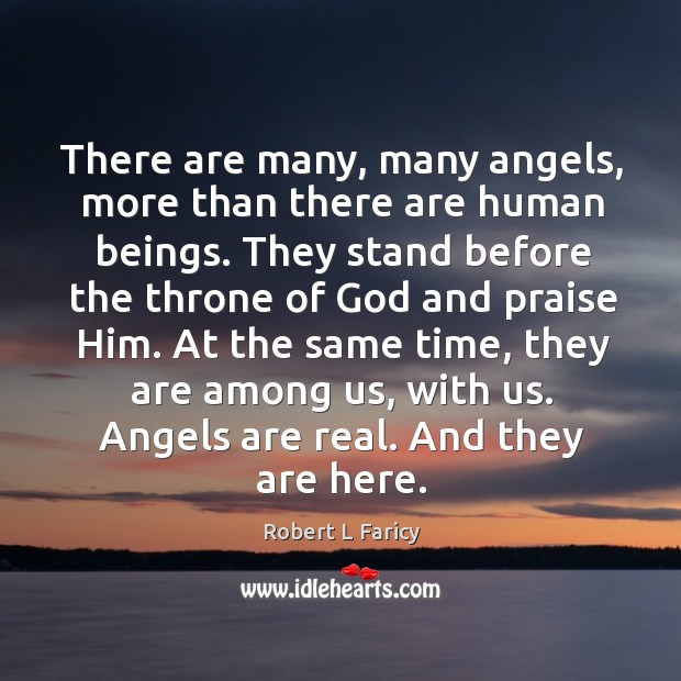 Image, There are many, many angels, more than there are human beings. They
