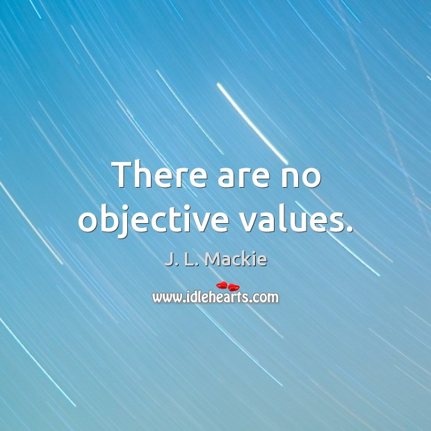 Image, There are no objective values.