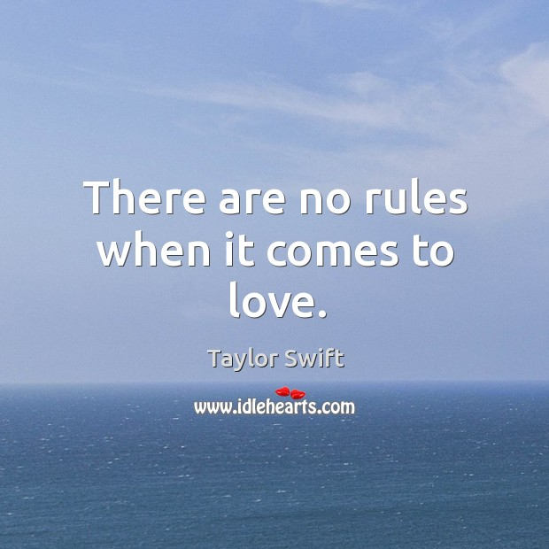 There are no rules when it comes to love. Image