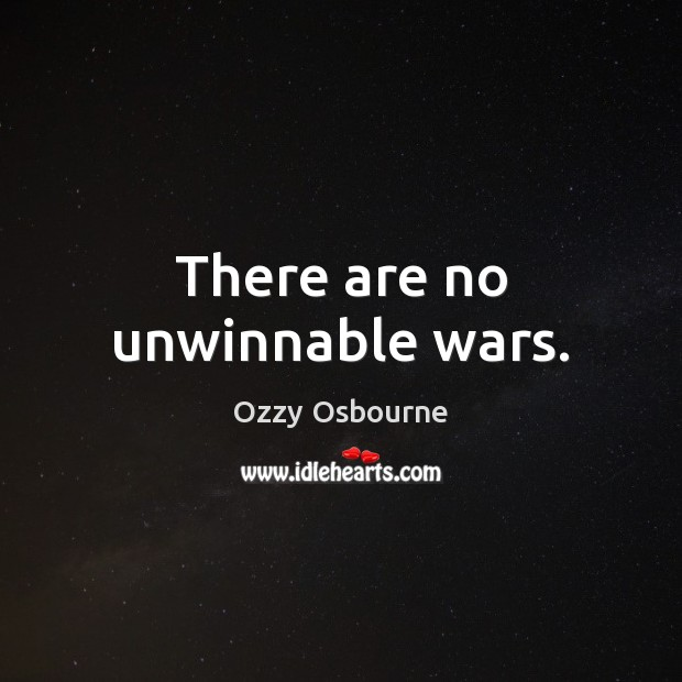 Picture Quote by Ozzy Osbourne
