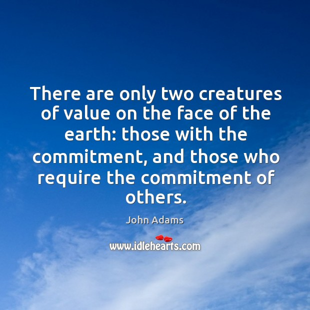 There are only two creatures of value on the face of the Image