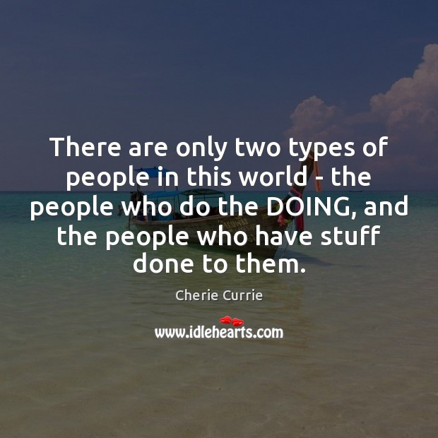There are only two types of people in this world – the Image