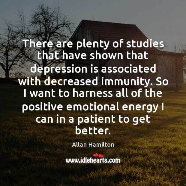 Image, There are plenty of studies that have shown that depression is associated