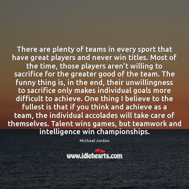 Image, There are plenty of teams in every sport that have great players