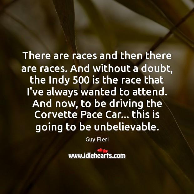 There are races and then there are races. And without a doubt, Image