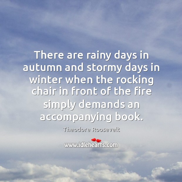 Image, There are rainy days in autumn and stormy days in winter when
