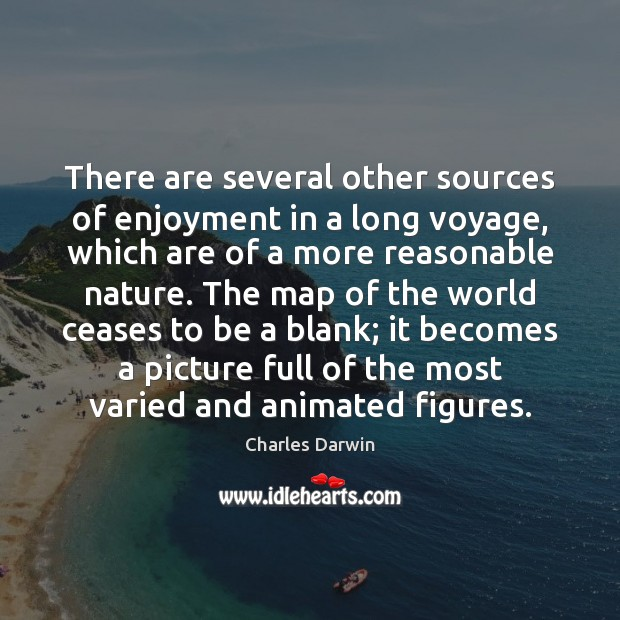 Image, There are several other sources of enjoyment in a long voyage, which