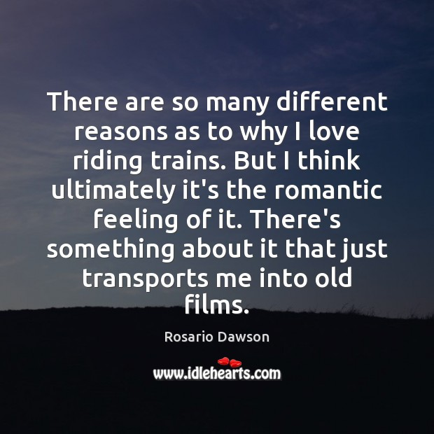 There are so many different reasons as to why I love riding Image