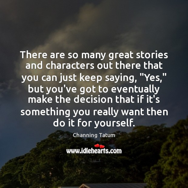 There are so many great stories and characters out there that you Image