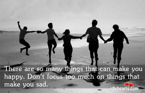 There Are So Many Things That Make You…