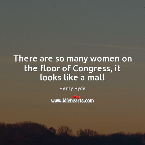 There are so many women on the floor of Congress, it looks like a mall Image