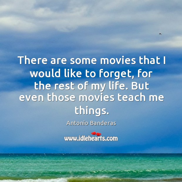 There are some movies that I would like to forget, for the rest of my life. Image