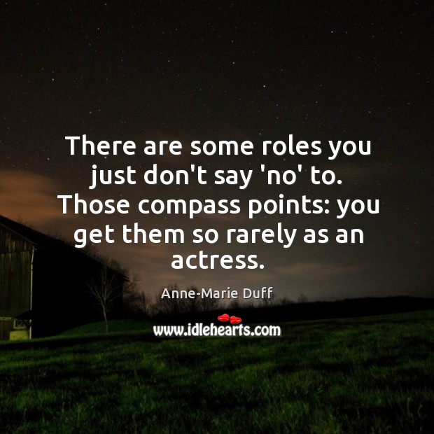 Image, There are some roles you just don't say 'no' to. Those compass