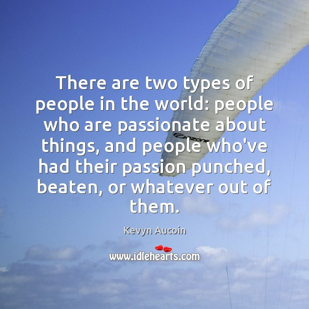 Image, There are two types of people in the world: people who are