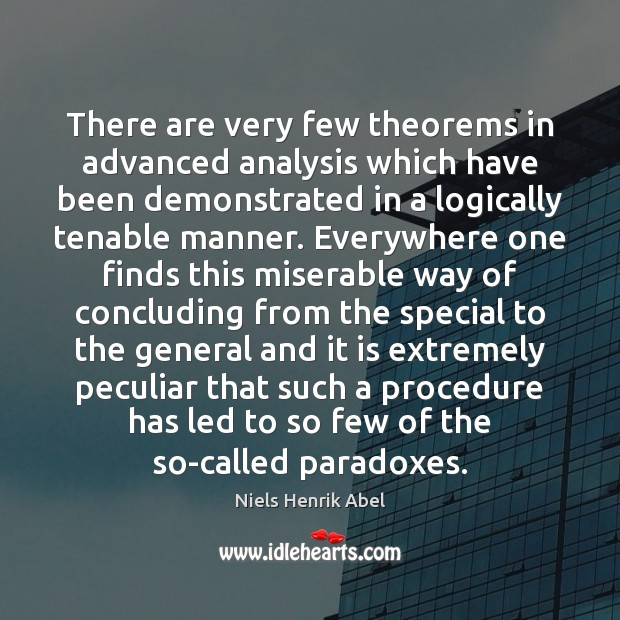 Image, There are very few theorems in advanced analysis which have been demonstrated