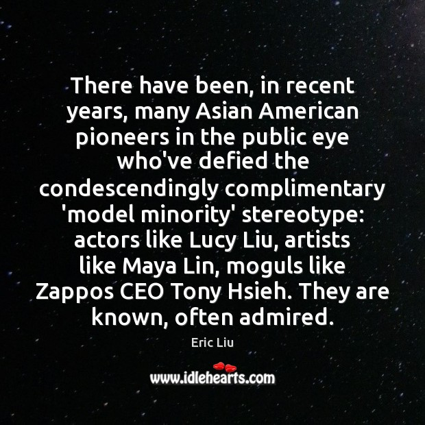 Image, There have been, in recent years, many Asian American pioneers in the