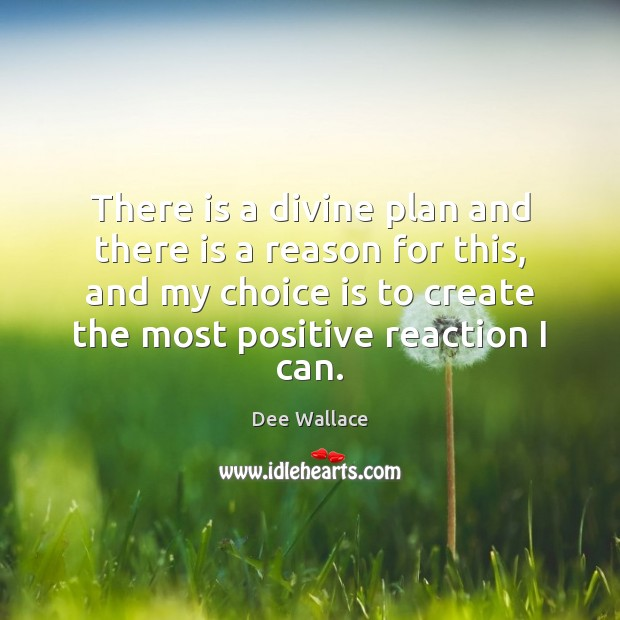 Image, There is a divine plan and there is a reason for this,