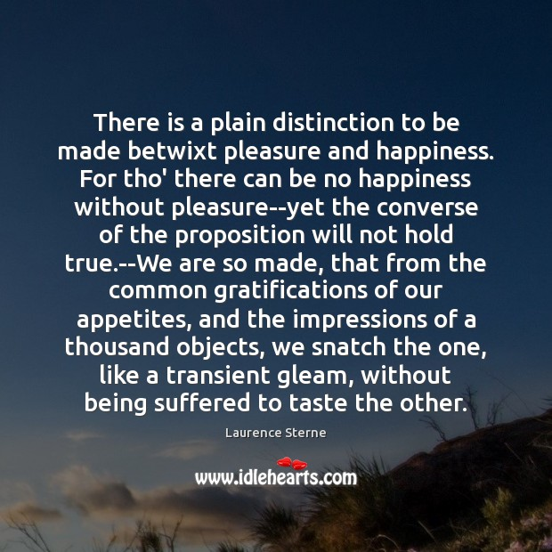 Picture Quote by Laurence Sterne