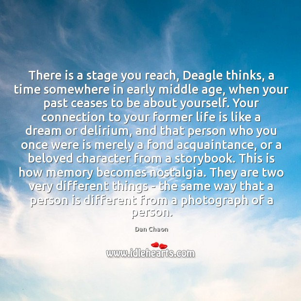 There is a stage you reach, Deagle thinks, a time somewhere in Image