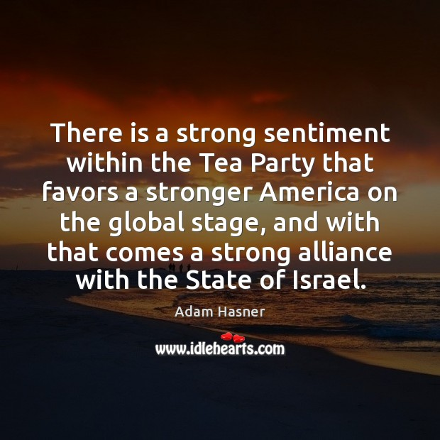 Image, There is a strong sentiment within the Tea Party that favors a