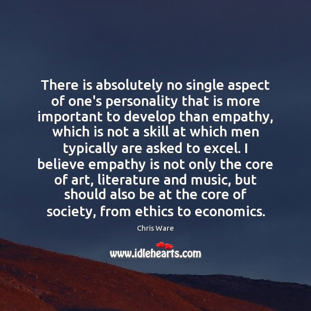 Image, There is absolutely no single aspect of one's personality that is more