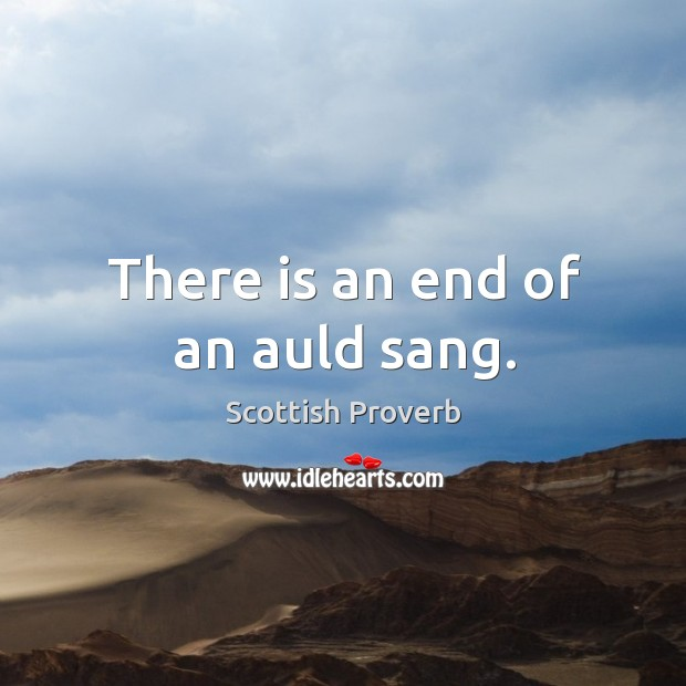 Scottish Proverb Image