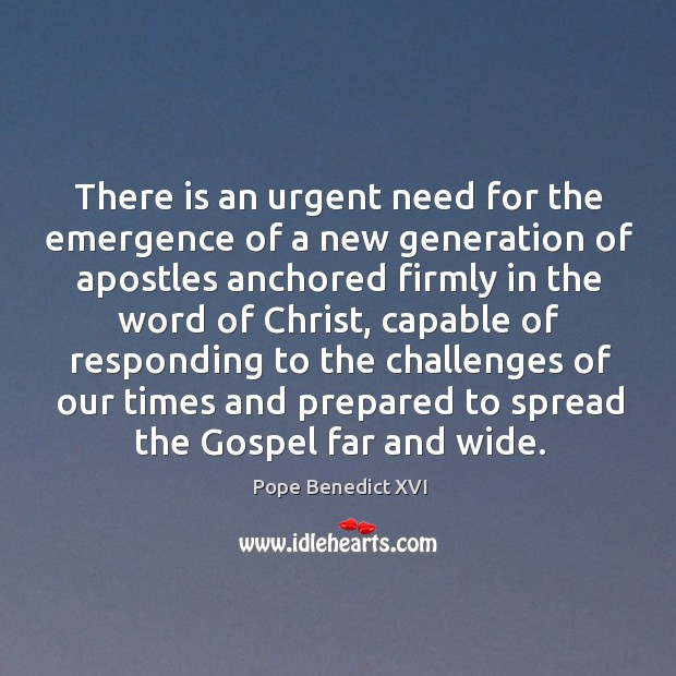 There is an urgent need for the emergence of a new generation Image