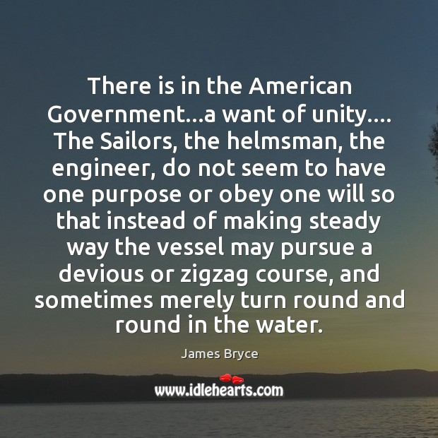 Image, There is in the American Government…a want of unity…. The Sailors,