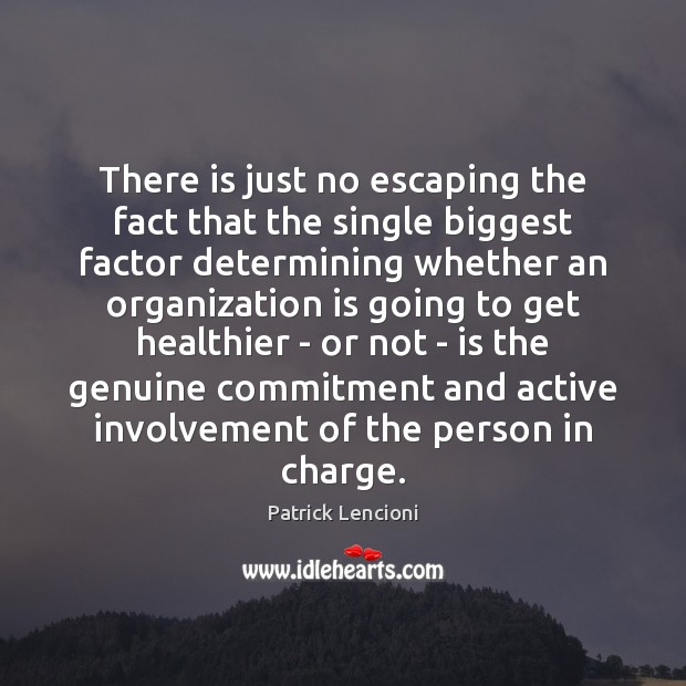 Image, There is just no escaping the fact that the single biggest factor
