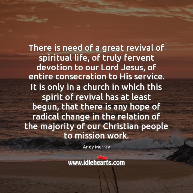 Image, There is need of a great revival of spiritual life, of truly