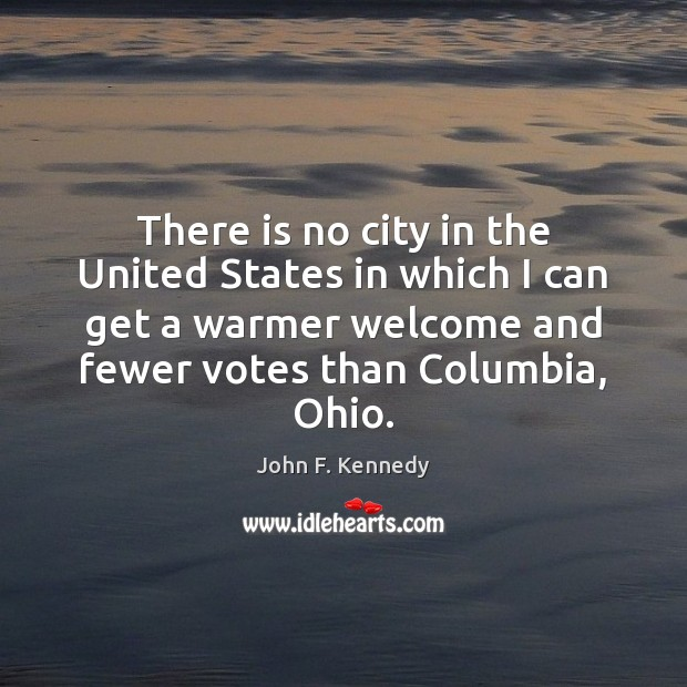 Image, There is no city in the United States in which I can
