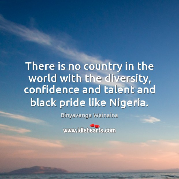 Image, There is no country in the world with the diversity, confidence and