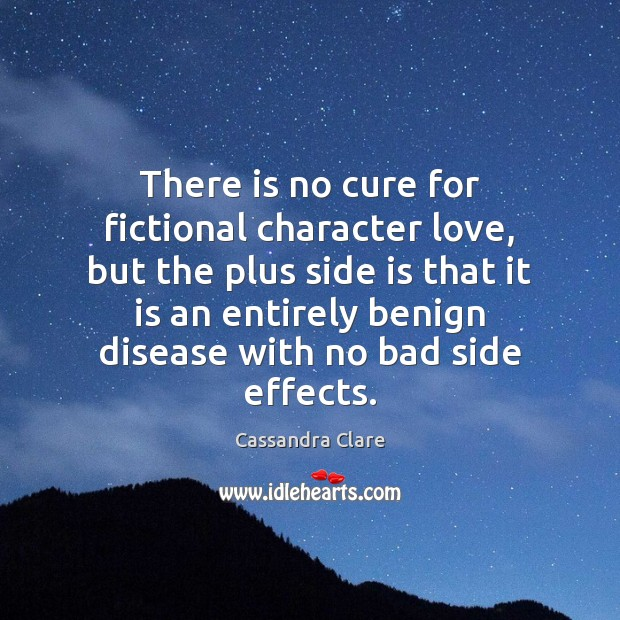 Image, There is no cure for fictional character love, but the plus side