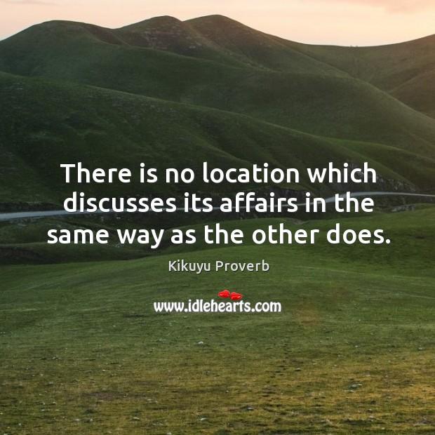 Kikuyu Proverbs