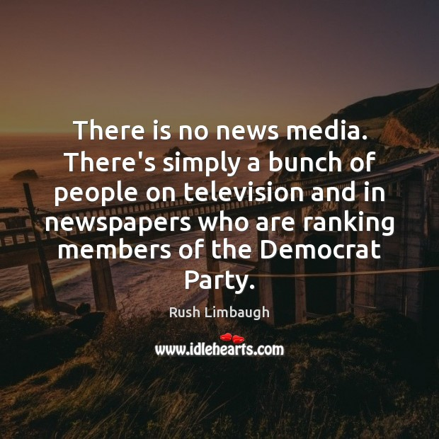 There is no news media. There's simply a bunch of people on Image
