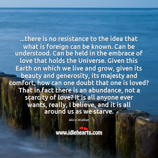 …there is no resistance to the idea that what is foreign can Image