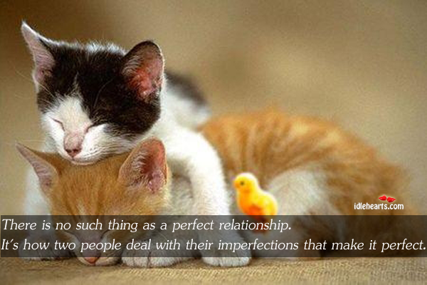 Image, Deal, How, Imperfections, Make, People, Perfect, Relationship, Thing, Two, Two People