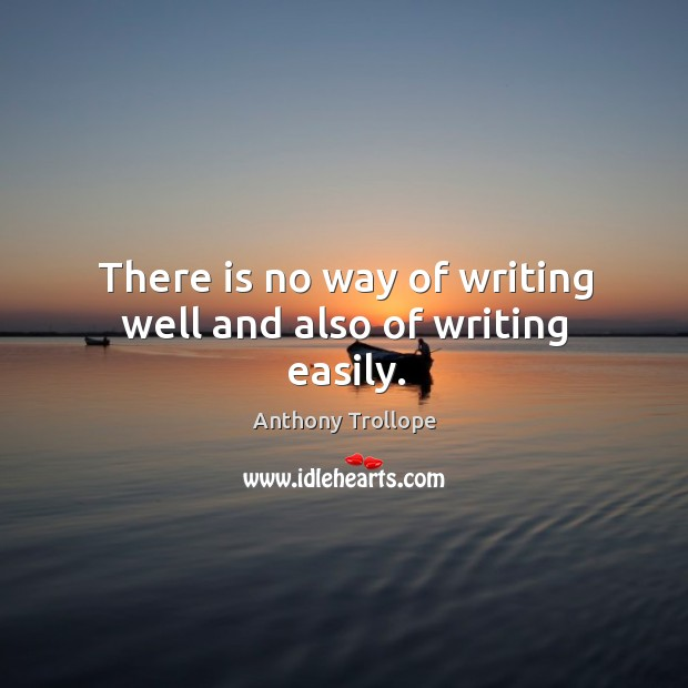 a way of writing