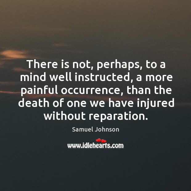 Image, There is not, perhaps, to a mind well instructed, a more painful