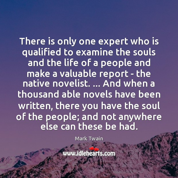 There is only one expert who is qualified to examine the souls Image