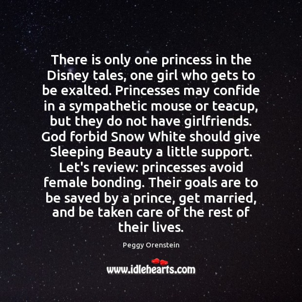 Image, There is only one princess in the Disney tales, one girl who