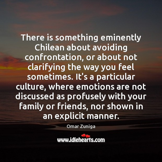Image, There is something eminently Chilean about avoiding confrontation, or about not clarifying