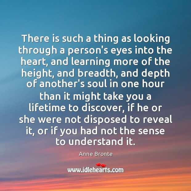 Image, There is such a thing as looking through a person's eyes into