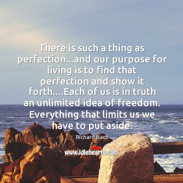 Image, There is such a thing as perfection…and our purpose for living