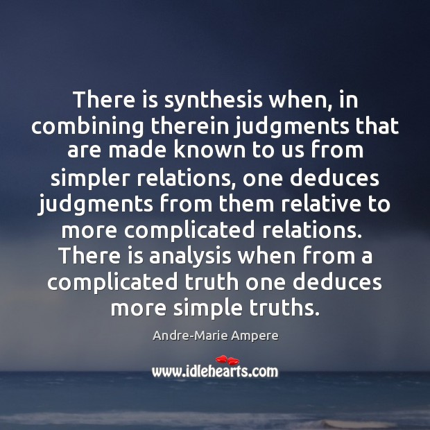 Image, There is synthesis when, in combining therein judgments that are made known