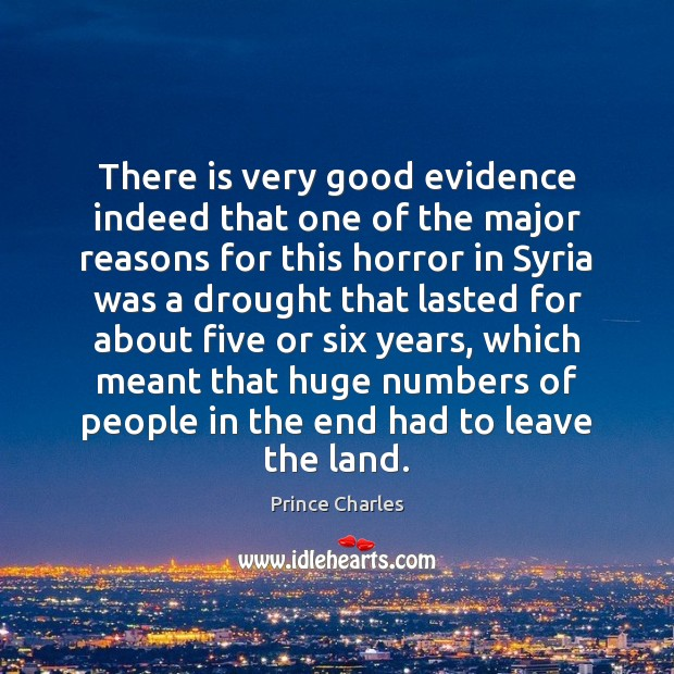 There is very good evidence indeed that one of the major reasons Prince Charles Picture Quote