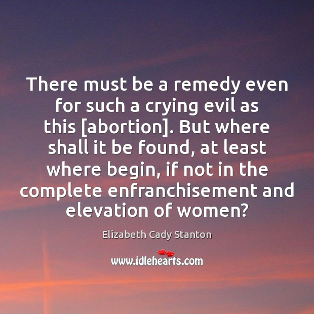 There must be a remedy even for such a crying evil as Image